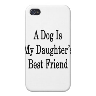 A Dog Is My Daughter's Best Friend iPhone 4/4S Cases