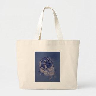 A Dog Understands (TM) Large Tote Bag