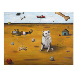 A Dogs Dream Postcard