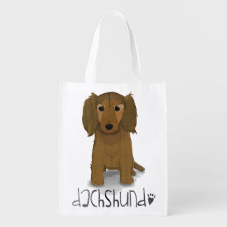 A Dogs Life - Dachshund Grocery Bags