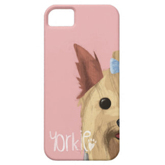 A Dogs Life - Yorkie (Long Haired) iPhone SE/5/5s Case