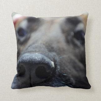 A Dogs Sense of Smell Throw Pillow