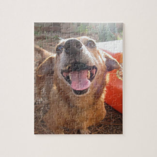A Dog's Smile - Jigsaw Puzzle