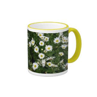 A Dollop of Daisies Ringer Mug
