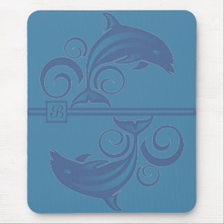 A Dolphin Mouse Pad