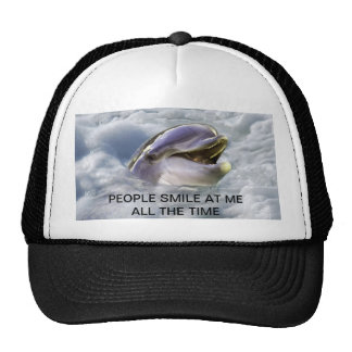 A dolphins best smile trucker hat