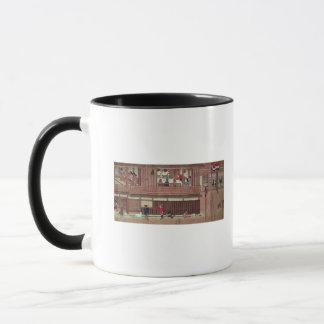 A domestic scene   of a scroll) mug