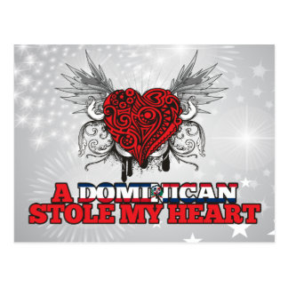 A Dominican Stole my Heart Postcard