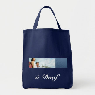 à Donf Grocery Tote Grocery Tote Bag