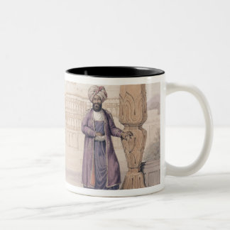A Dooranee Noble and his Attendant at the Palace i Two-Tone Coffee Mug