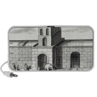 A Doorway in the Great Wall iPhone Speaker