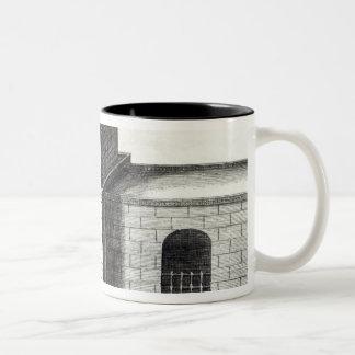A Doorway in the Great Wall Two-Tone Coffee Mug