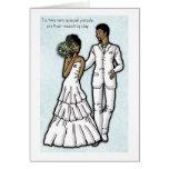 A dos personas muy especiales en su casese… felicitación