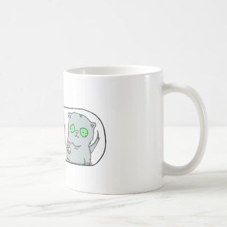 A dose of happiness shelter cat coffee mug