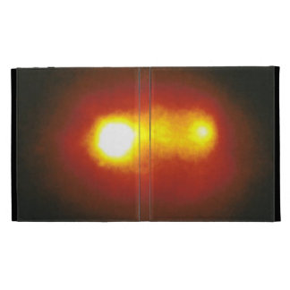 A Double Nucleus in Active Galaxy Markarian 315 iPad Folio Cover