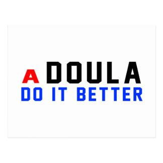 A Doula Do It Better Postcards