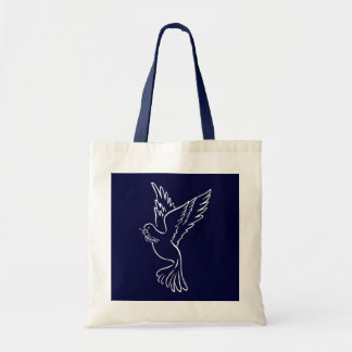 A - Dove of Peace Tote Bag