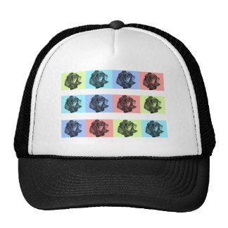 A Dozen Abstract Roses Trucker Hat