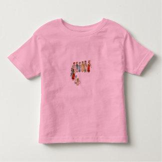 A Dozen Little Girls Toddler T-shirt