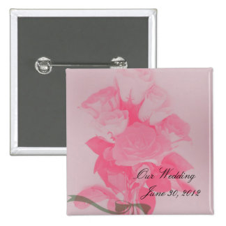 A Dozen of Roses For You Magnet Pinback Button