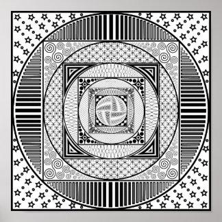 A Dozen Patterns Poster