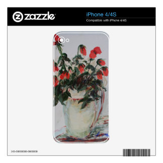 A Dozen Red Roses iPhone 4S Decal