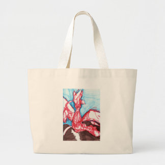 A Dragon Expressed Undefined Canvas Bag