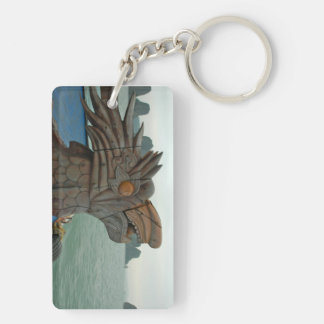 A dragon from Halong Bay, Vietnam Keychain
