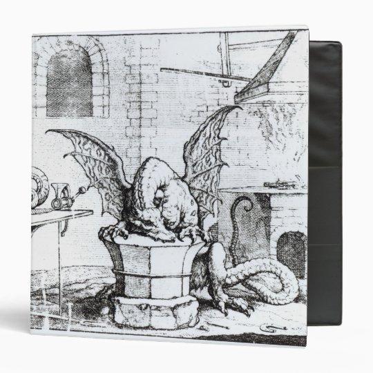 A Dragon in a Workshop Binder