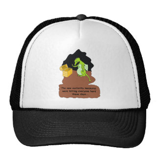 A Dragon in Austerity (brown) Hats