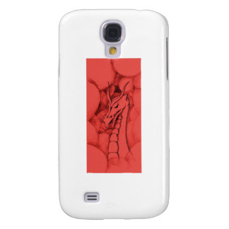 A dragon in smoke (red) samsung s4 case