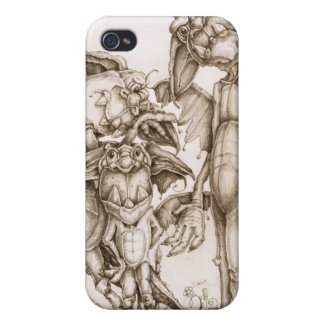 A Dragon Pose Case For iPhone 4