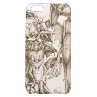 A Dragon Pose iPhone 5C Cases