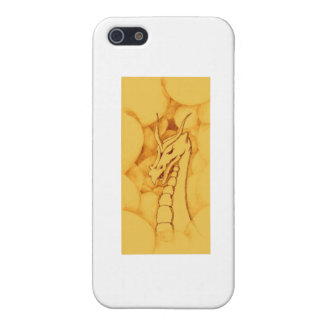 A Dragon Wreathed in Smoke (Bronze) Cover For iPhone SE/5/5s