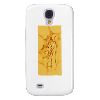 A Dragon Wreathed in Smoke (Bronze) Samsung S4 Case