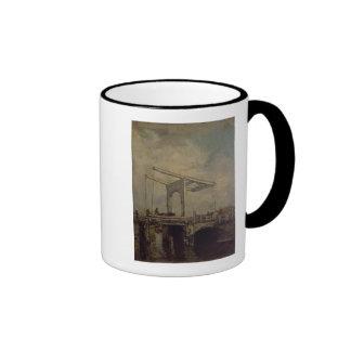 A Drawbridge in a Dutch Town, 1875 Ringer Coffee Mug