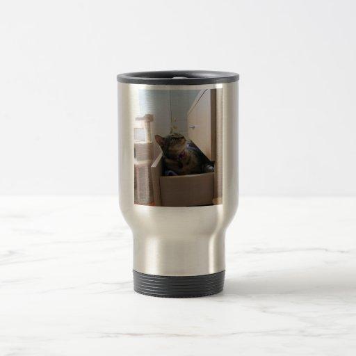 A Drawer for Indigo 15 Oz Stainless Steel Travel Mug