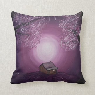 A Dream for Two / Windmill - Two image pillow.