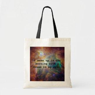 A Dream in My Eyes Tote Bag