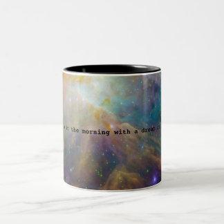 A Dream in My Eyes Two-Tone Coffee Mug