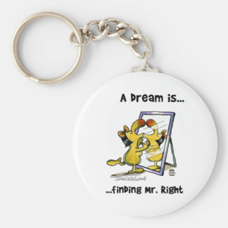 A Dream Is... Finding Mr. Right Keychain