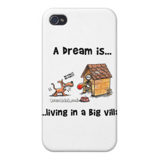 A Dream Is... Living In A Big Villa iPhone 4/4S Cover
