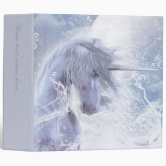A Dream Of Unicorn Binder