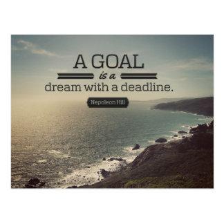 A Dream With A Deadline Postcard