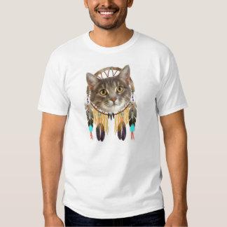 A Dreamcatcher Kitty Tee Shirt