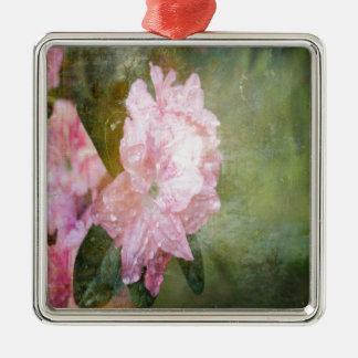 A Dreamy Pink Azalea Metal Ornament