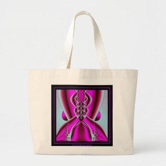 A Dress Breast Cancer Jumbo Tote Bag