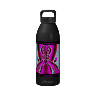 A Dress Breast Cancer Water Bottle