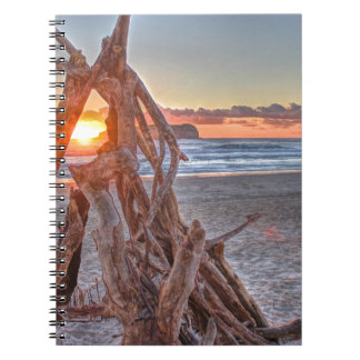 A Driftwood Sunrise Notebook