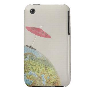 A drinks umbrella at a globe Case-Mate iPhone 3 case